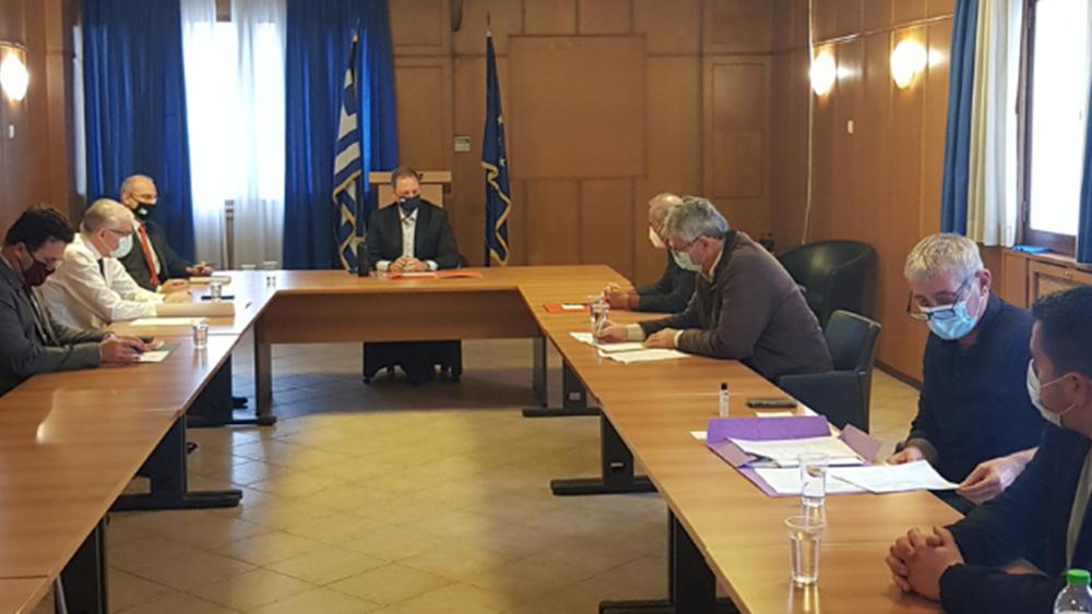 Συνάντηση του υπ. Αγροτικής Ανάπτυξης Σπ. Λιβανού με την Ομοσπονδία Αγροτικών Συλλόγων Καρδίτσας