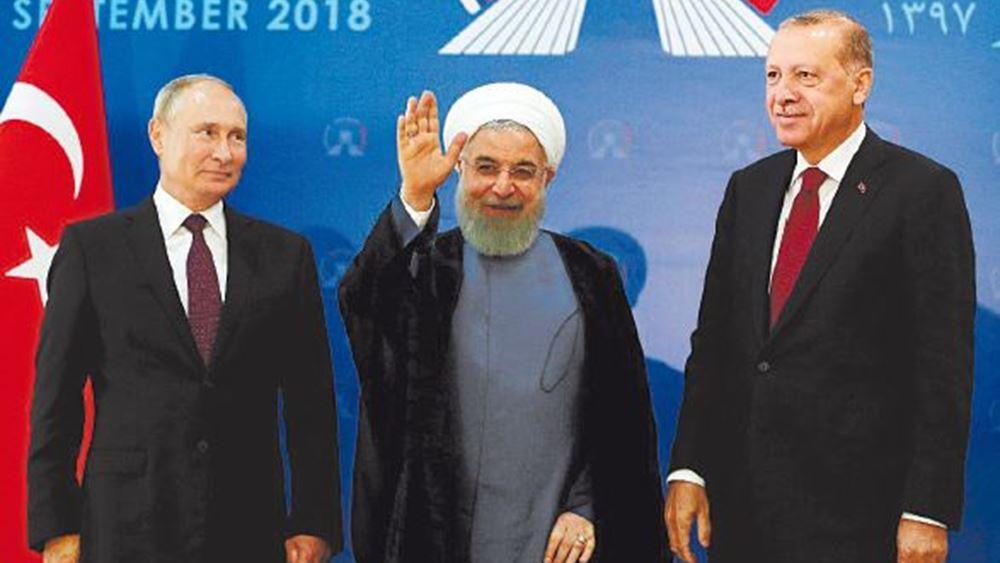 Ρωσία: Συναντήσεις Πούτιν με Ερντογάν και Ροχανί στην Άγκυρα στις 16 Σεπτεμβρίου