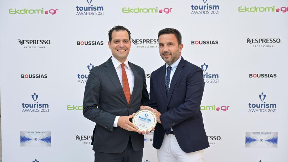 Όμιλος HotelBrain: Ο μεγάλος νικητής των Tourism Awards 21