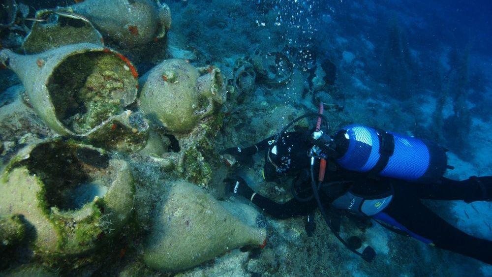 Υπ. Πολιτισμού: Σημαντικά ευρήματα από την ενάλια αρχαιολογική έρευνα στη νήσο Λέβιθα