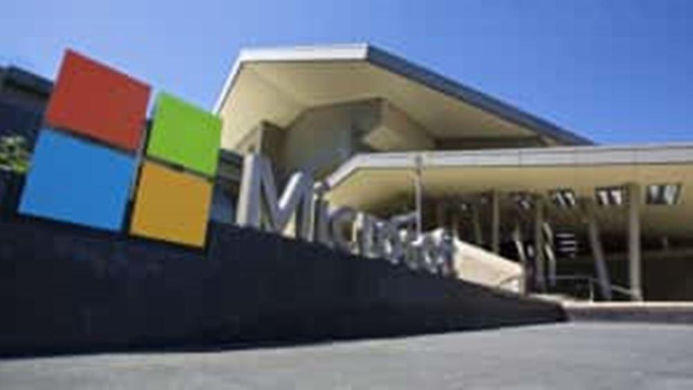 Microsoft: Μεγάλη ώθηση από το cloud στα κέρδη και νέο ρεκόρ για τη μετοχή