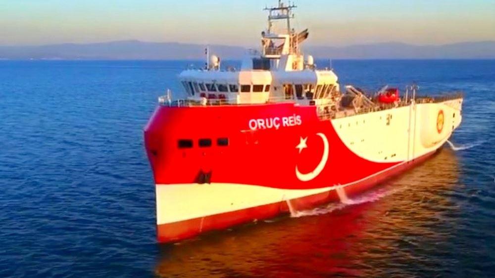 Για έναρξη σεισμικών ερευνών από το Oruc Reis κάνει λόγο η τουρκική πρεσβεία στην Ουάσιγκτον