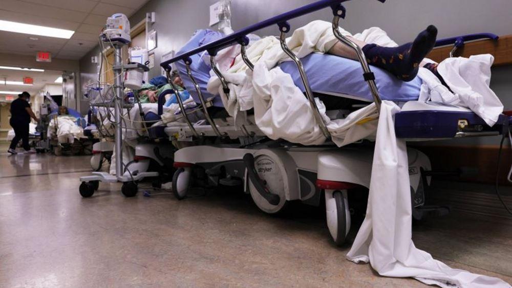 ΗΠΑ: Συμφόρηση στις μονάδες εντατικής και στα νεκροτομεία της Καλιφόρνια εξαιτίας του κορονοϊού