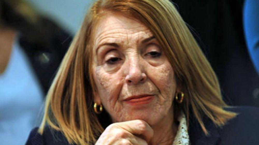 Διαφοροποίηση από Τ. Χριστοδουλοπούλου κατά την ψηφοφορία