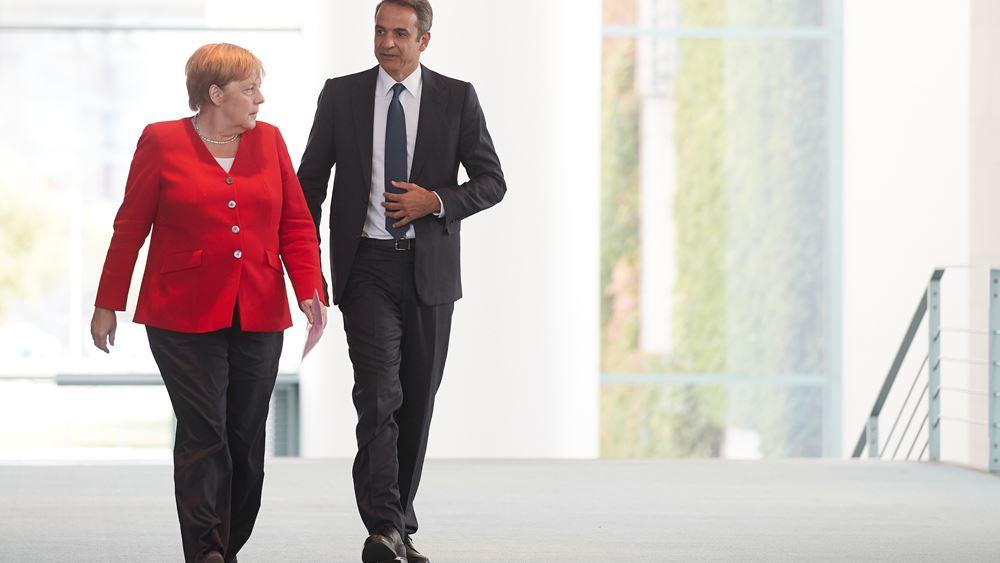 Βερολίνο για επίσκεψη Μητσοτάκη: Καλές οι διμερείς σχέσεις-μπορούν να εντατικοποιηθούν
