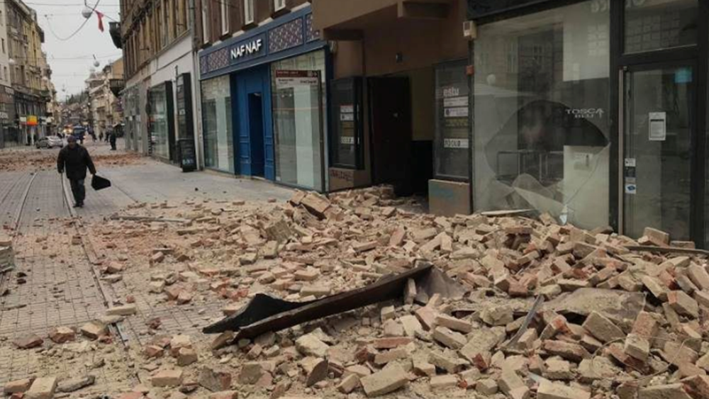 Άμεση συνδρομή της Ελλάδας στην Κροατία για την αντιμετώπιση των συνεπειών του σεισμού που έπληξε τη χώρα