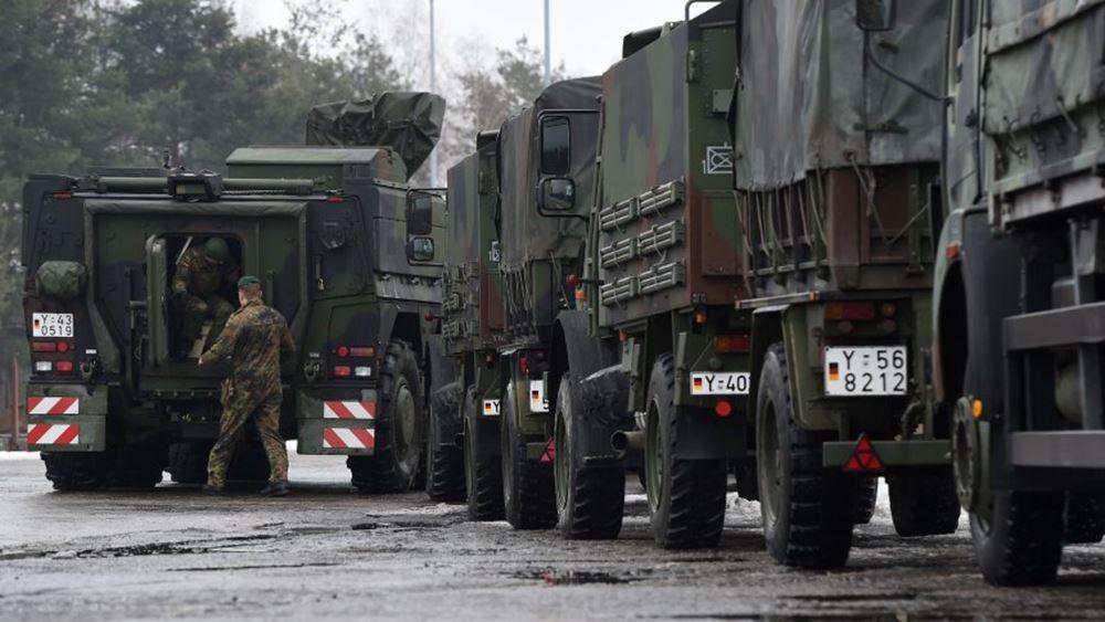 Η Ουάσινγκτον θα αναπτύξει 500 στρατιωτικούς στη Λιθουανία