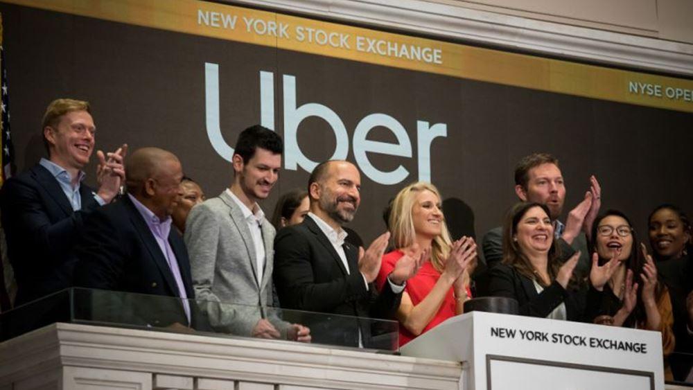 """Η Uber κατέθεσε προσφορά για την απόκτηση της startup παράδοσης φαγητού """"Grubhub"""""""