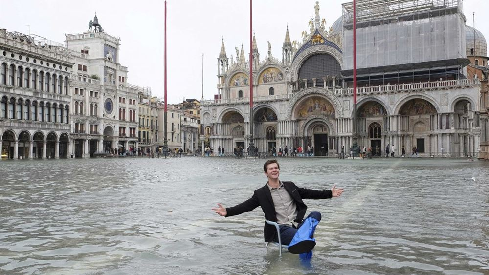 Ιταλία: Ξανά κάτω απ' το νερό η Βενετία