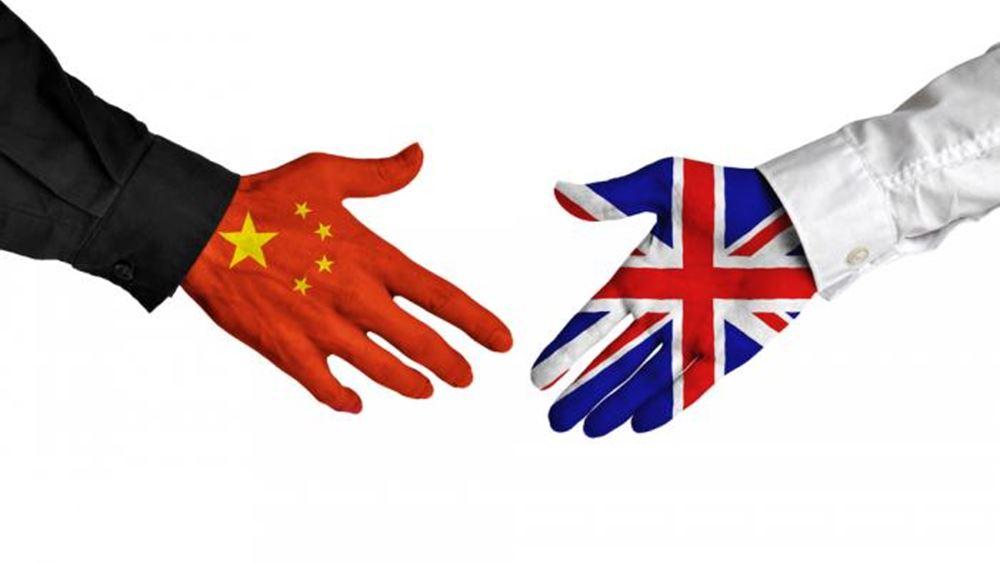 Συμφωνίες άνω των 12,83 δισ. δολαρίων υπέγραψαν Κίνα – Βρετανία