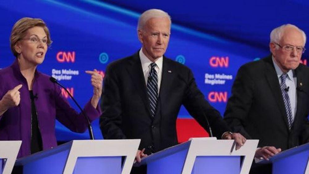 ΗΠΑ: Ανοίγει η αυλαία των προκριματικών εκλογών για το χρίσμα των Δημοκρατικών εν όψει προεδρικών