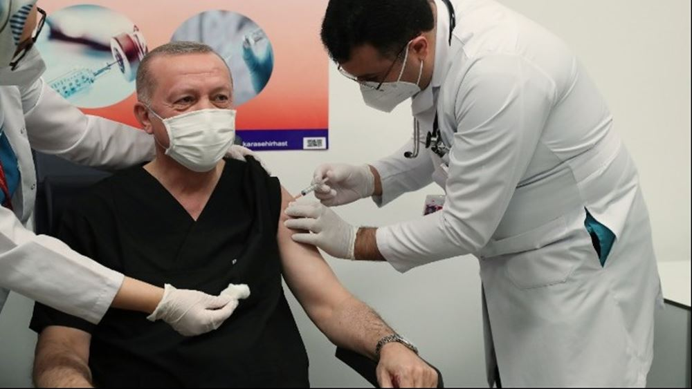 Τουρκία: Ανακοίνωσε περισσότερους από 675.000 εμβολιασμούς μέσα στις πρώτες τρεις μέρες από την έναρξη τους