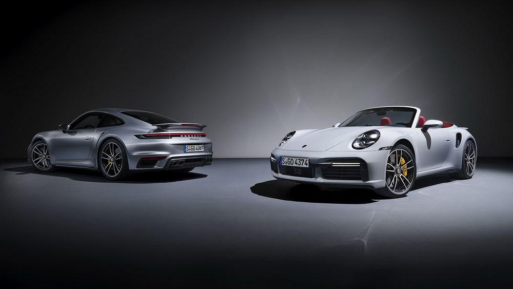 Νέα Porsche 911 Turbo S (vid.)