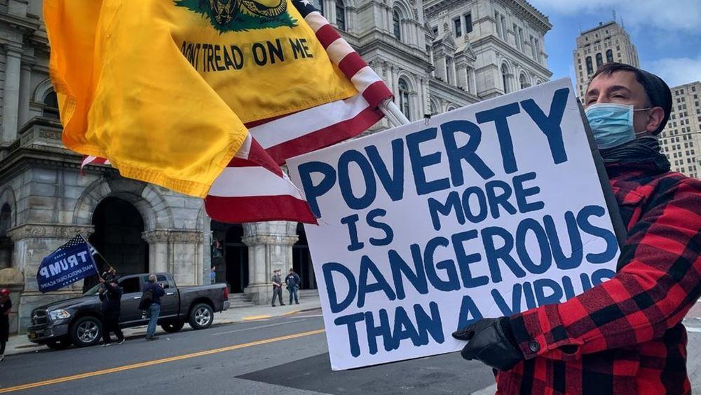 ΗΠΑ: Ο κορονοϊός έφερε ρεκόρ ανεργίας