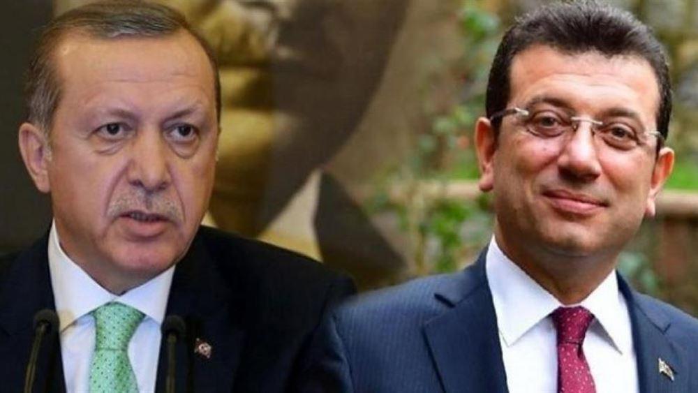 """Τουρκία: """"Βολές"""" Ιμάμογλου κατά Ερντογάν για τη διαχείριση της κρίσης του κορονοϊού"""