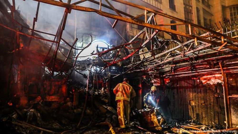 Ιράν: Έκρηξη αερίου ισοπεδώνει κτίριο, τουλάχιστον 2 νεκροί