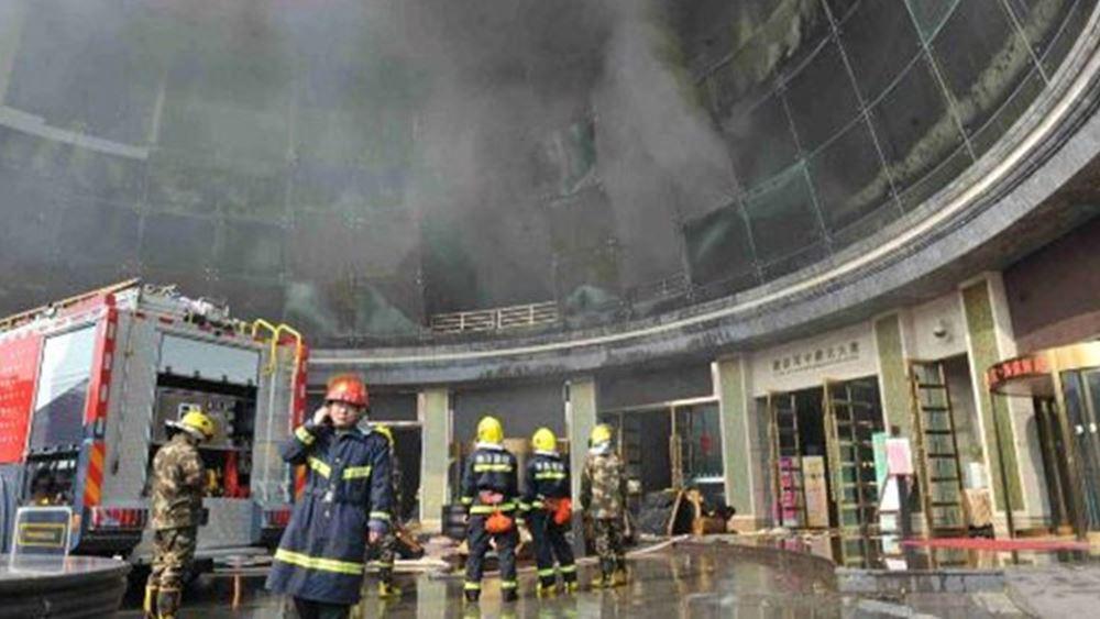Δύο νεκροί και 12 αγνοούμενοι από ισχυρότατη έκρηξη σε εργοστάσιο στην Κίνα