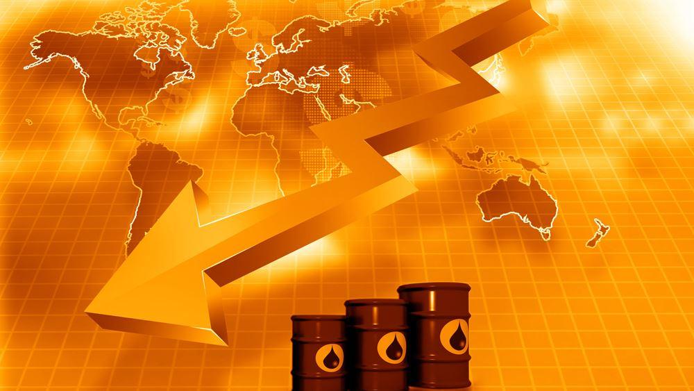 Πτώση 4% για την τιμή του πετρελαίου