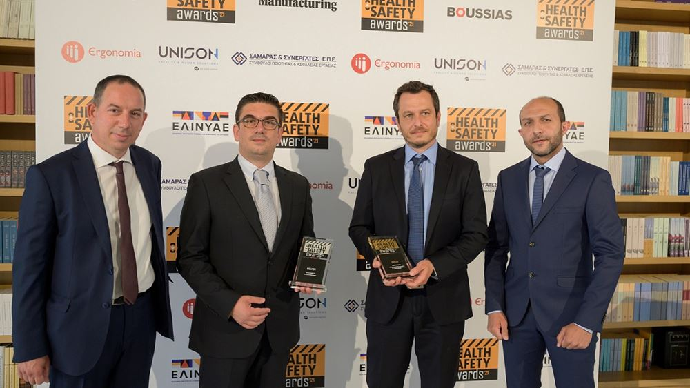 Δύο σημαντικές διακρίσεις για την Sunlight στα Health & Safety Awards 2021