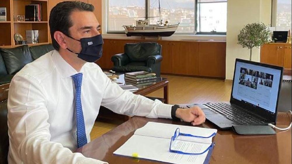 Το σχέδιο ενεργειακού μετασχηματισμού της Ελλάδας παρουσίασε σε πρέσβεις ο Κ. Σκρέκας