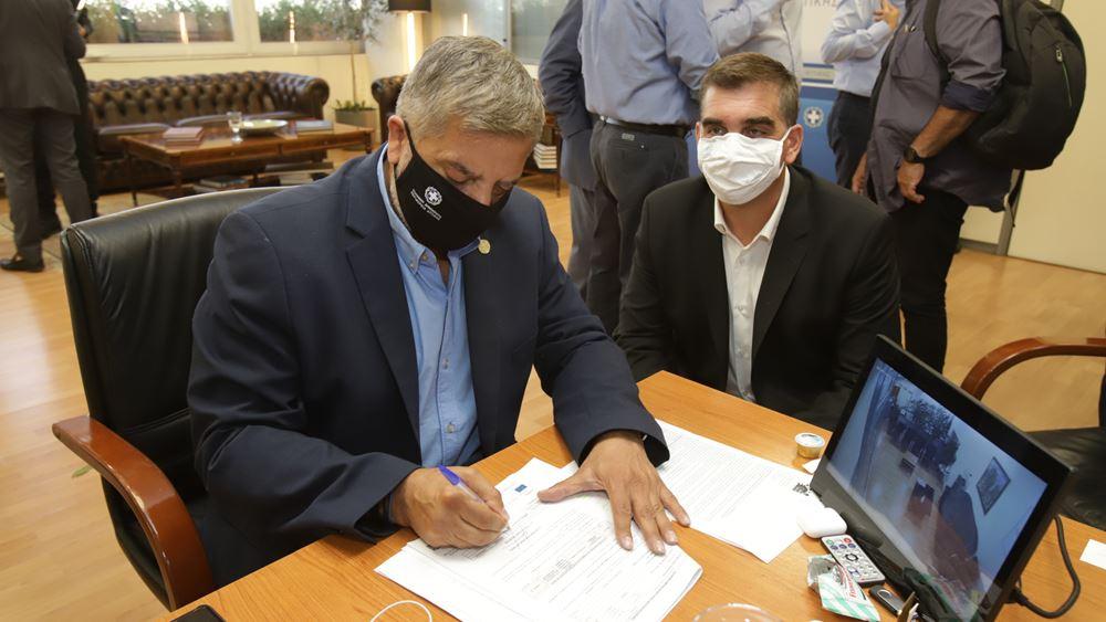 Δήμος Ελληνικού-Αργυρούπολης: Ο Περιφερειάρχης Αττικής υπέγραψε την απόφαση για έργα ενεργειακής αναβάθμισης στο Δημαρχείο και σε δημόσια κτίρια