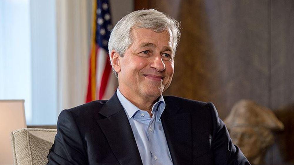 Dimon (JPMorgan): Οι ΗΠΑ μπορούν να βγουν πιο δυνατές από την κρίση