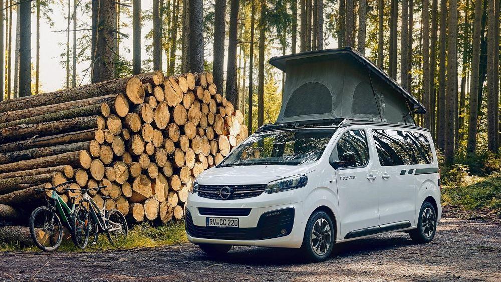 Το Opel Zafira Life διαθέσιμο στην έκδοση Crosscamp Lite