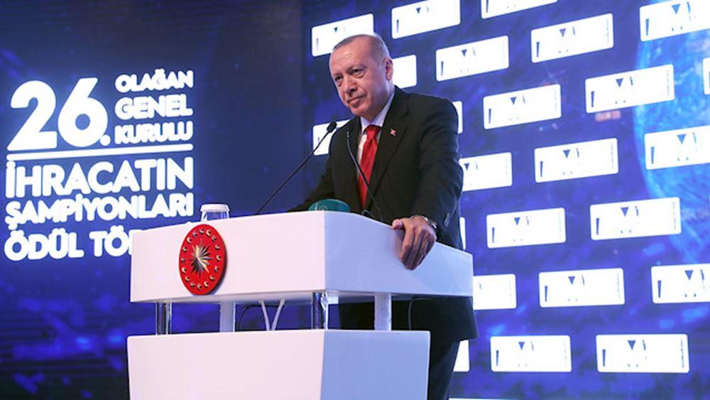 Ερντογάν: Με πιθανή πρωτοβουλία της Ρωσίας θα μπορούσε να επιτευχθεί ειρήνη δυτικά του Ευφράτη