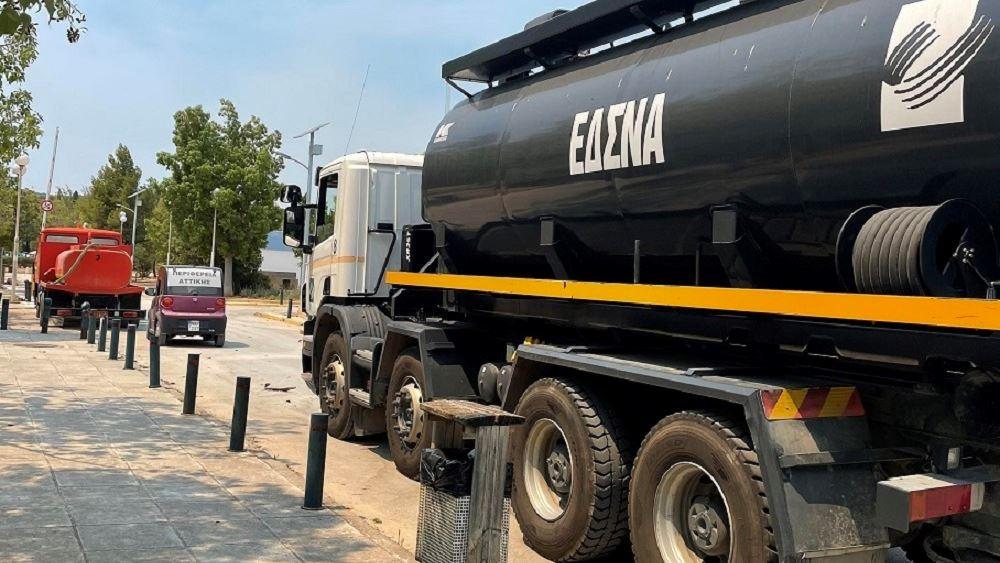 Σε Αττική, Εύβοια και Πελοπόννησο επιχειρούν οχήματα και προσωπικό της Πολιτικής Προστασίας της Περιφέρειας Αττικής
