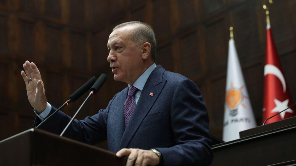 """Ερντογάν προς Τούρκους πολίτες: Μπείτε σε """"εθελοντική καραντίνα"""""""