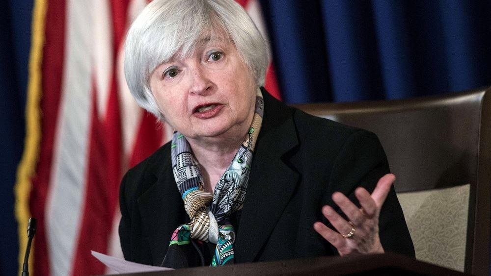 ΗΠΑ: Η Γέλεν πιέζει το Κογκρέσο να αυξήσει το όριο δανεισμού των ΗΠΑ