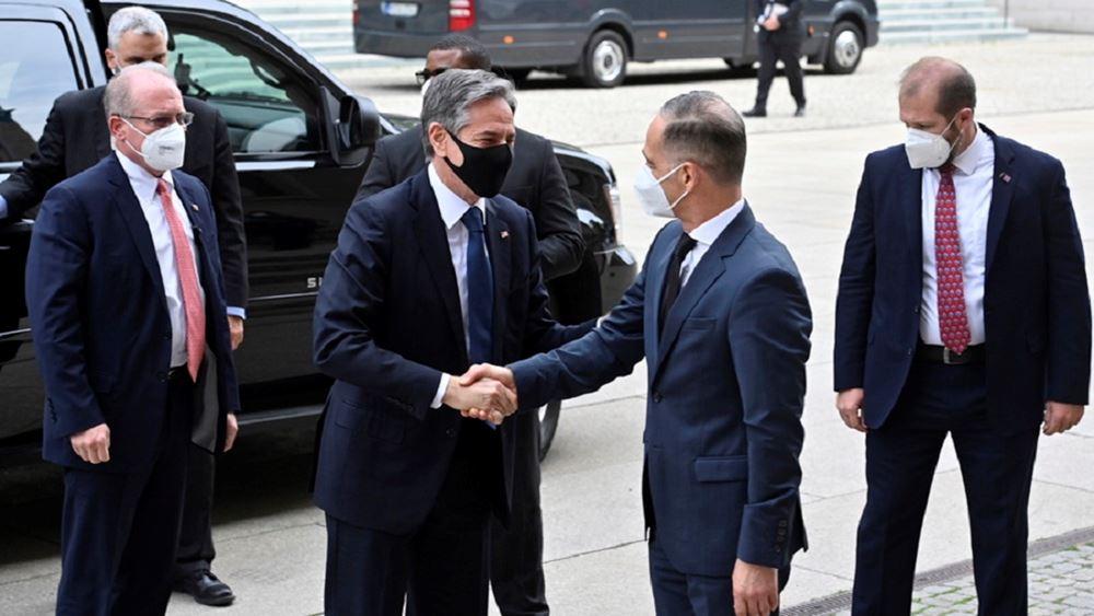 Μαας Μπλινκεν διάσκεψη για τη Λιβύη στο Βερολινο 23.06.2021