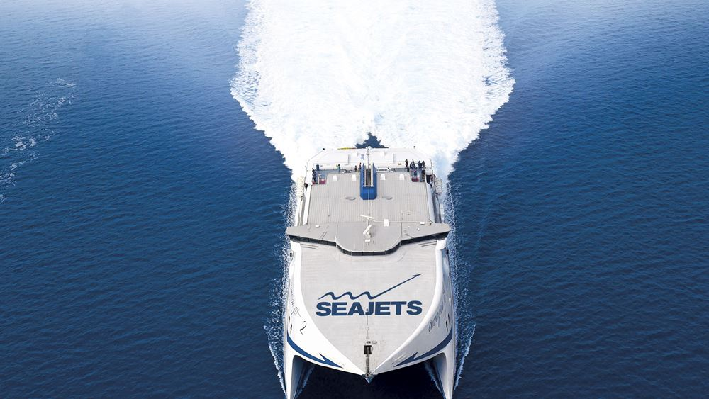 Seajets: Το επιβατηγό - οχηματαγωγό ταχύπλοο Champion Jet 1 θα αντικαταστήσει το Aqua Blue