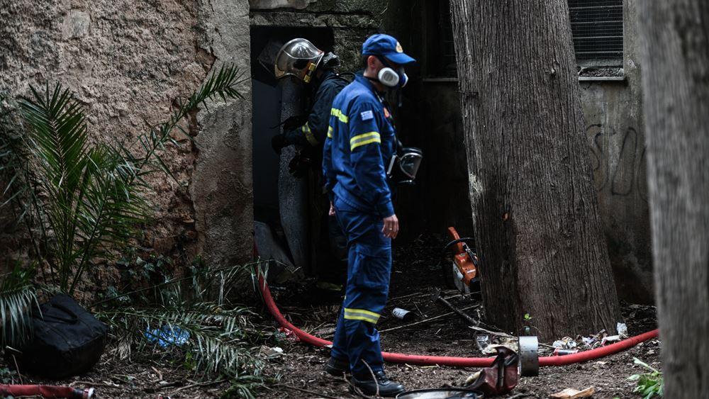 Υπό έλεγχο η πυρκαγιά σε κτίριο μέσα στο Αλσος Καισαριανής