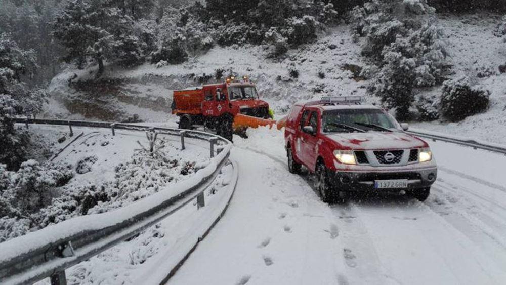 Ισπανία: Τρεις νεκροί από την πρωτοφανή χιονοθύελλα που πλήττει τη χώρα