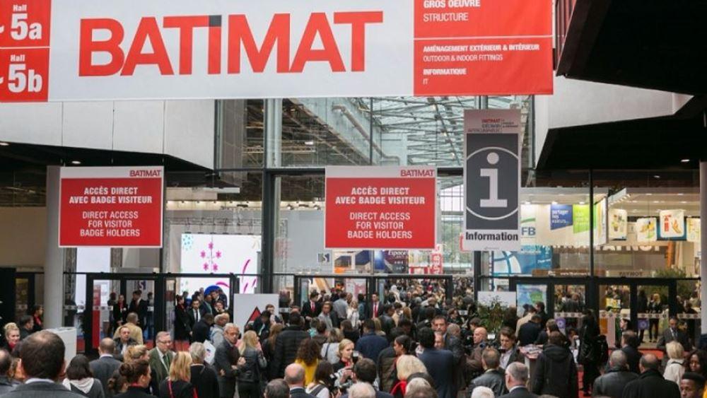 "O Enterprise Greece με 21 εξαγωγικές εταιρίες στην Διεθνή Έκθεση δομικών υλικών και κατασκευών ""Batimat 2019"""