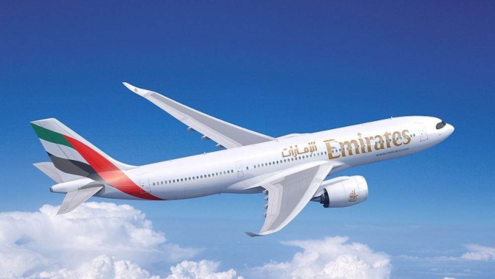 Διπλασιασμό των πτήσεων από την Αθήνα εξετάζει η Emirates