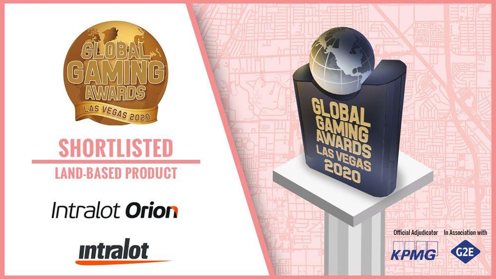 "Intralot: Υποψήφια στα Διεθνή Βραβεία ""Global Gaming Awards 2020"""