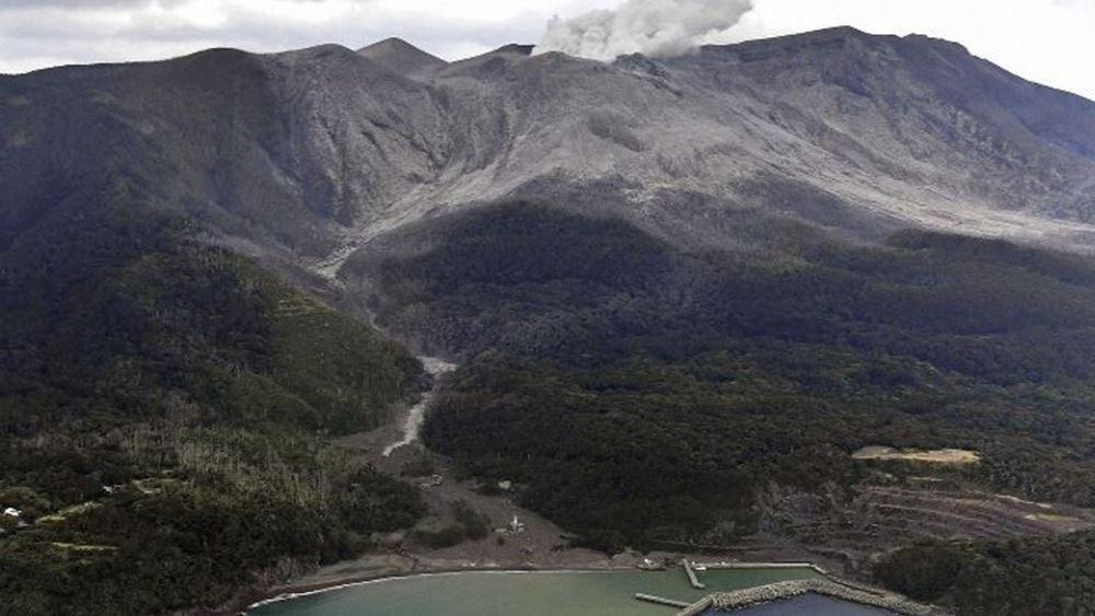Ιαπωνία: Ηφαίστειο εξερράγη στη νήσο Σατσουμάγιο
