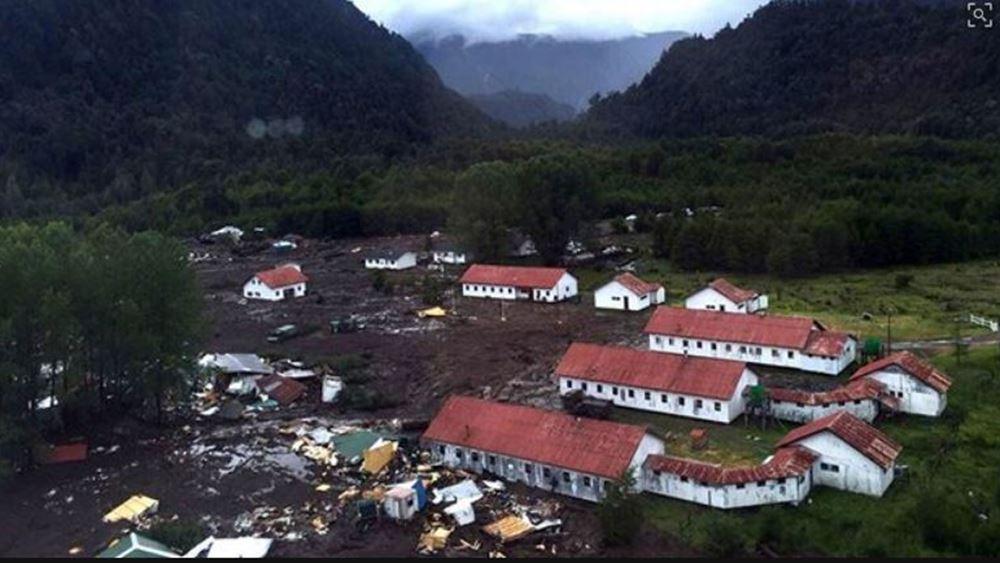 Έντεκα νεκροί και 15 αγνοούμενοι από κατολισθήσεις λάσπης στη Χιλή