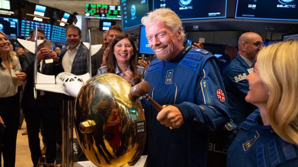 Ο Ρίτσαρντ Μπράνσον πούλησε μετοχές της Virgin Galactic αξίας 150 εκατ. δολ.