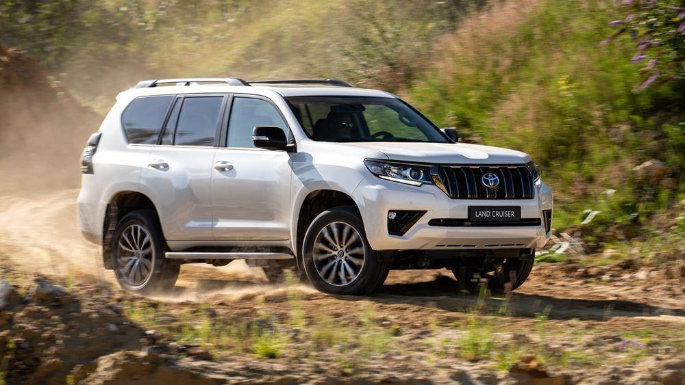 H Toyota ανανεώνει το Land Cruiser