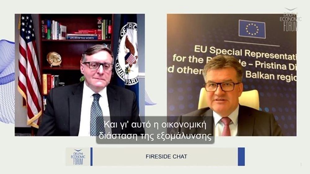 Μ. Πάλμερ: Όραμα των ΗΠΑ ηενσωμάτωση των Δυτ. Βαλκανίων στην ΕΕ