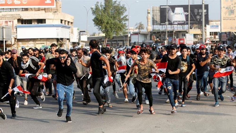 Ιράκ: Τρεις διαδηλωτές νεκροί στη Βαγδάτη