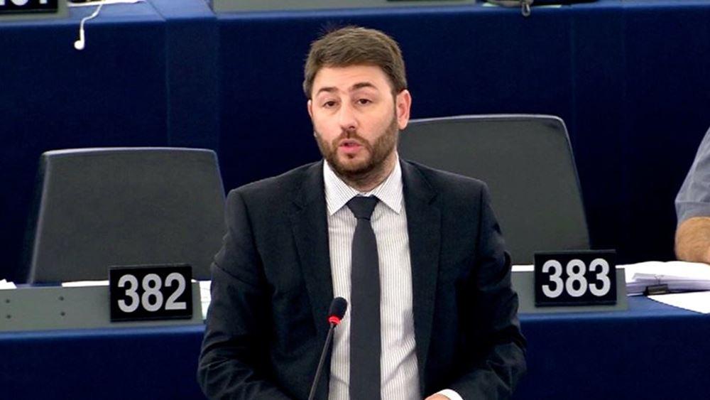 Ν. Ανδρουλάκης: Το ευρωομόλογο είναι το φάρμακο για την αντιμετώπιση της οικονομικής κρίσης από τον κορονοϊό