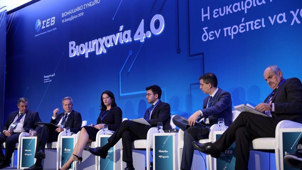 Ν. Κεραμέως στον ΣΕΒ: Η ψηφιακή προσαρμογή αποτελεί κρίσιμο παράγοντα επιβίωσης