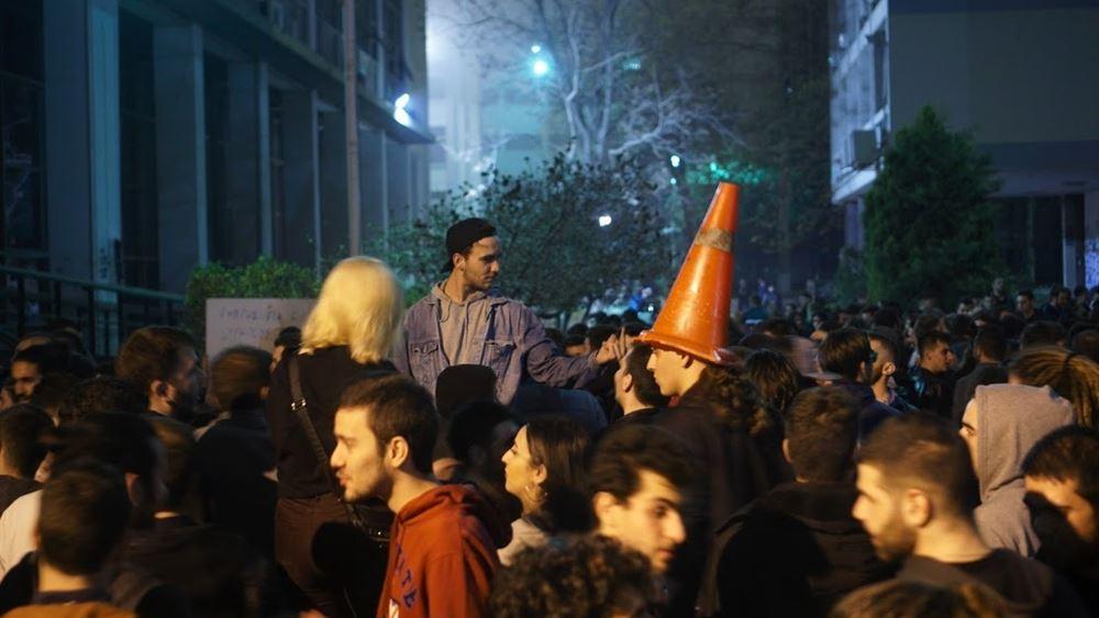 Θεσσαλονίκη: Πάρτι με 1.500 άτομα στο προαύλιο του ΑΠΘ
