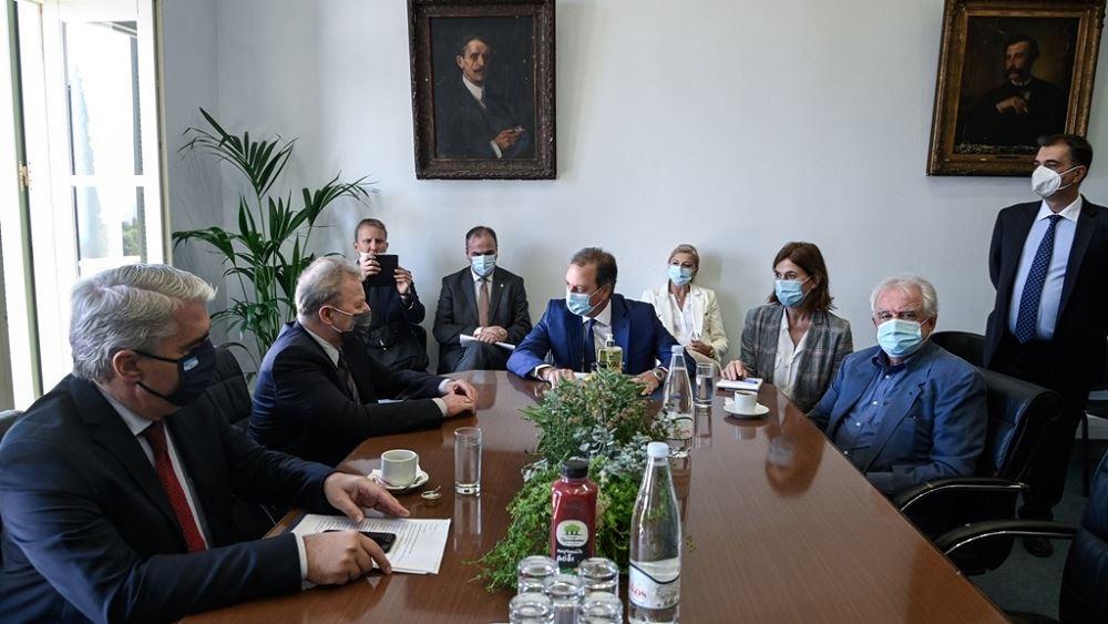 Λιβανός και Μπένος ενημέρωσαν τον Ευρωπαίο Επίτροπο Γεωργίας για το σχέδιο ανασυγκρότησης της Βόρειας Εύβοιας
