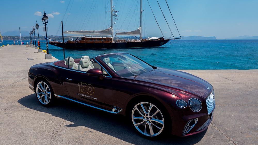 """Η Bentley στο """"Spetses Classic Yacht Regatta 2019"""""""