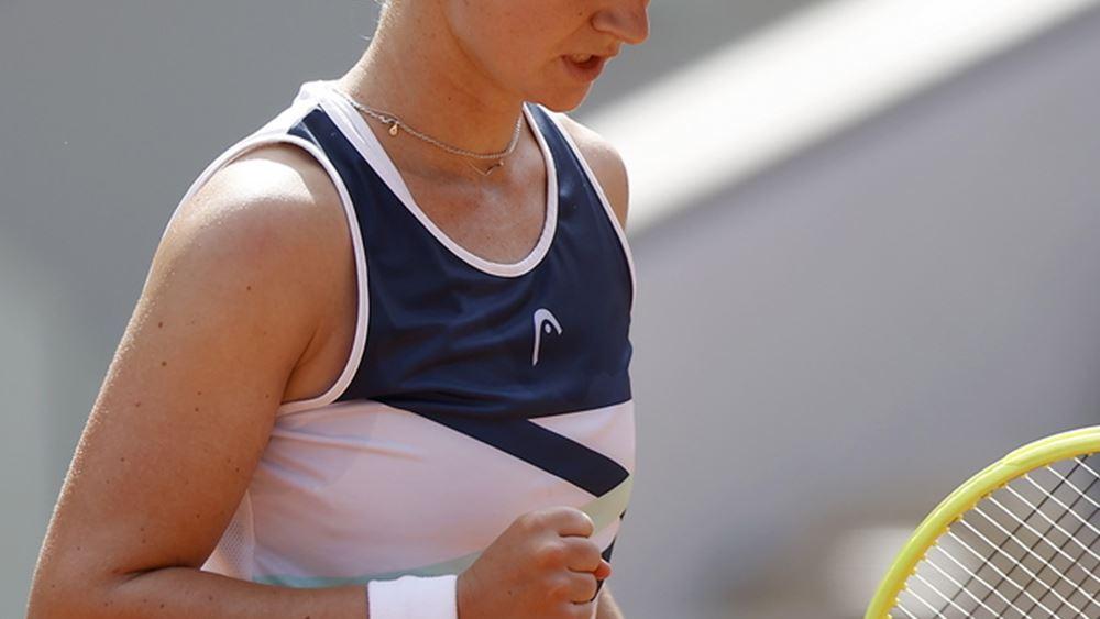 Roland Garros: Το πρώτο τίτλο της σε γκραν σλαμ κατέκτησε η Κρεϊτσίκοβα